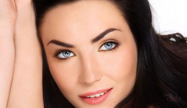 летний макияж идеальный тон кожи яркий