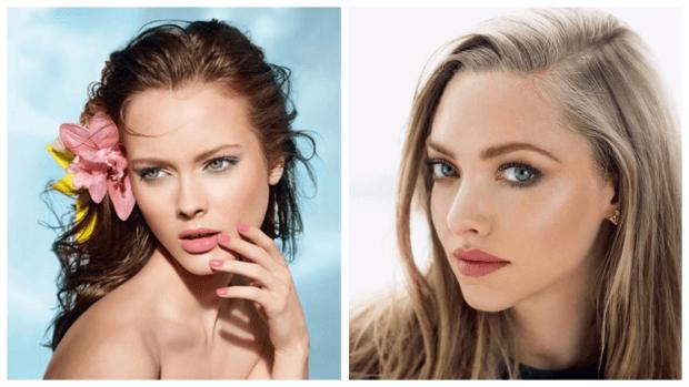 летний макияж разный