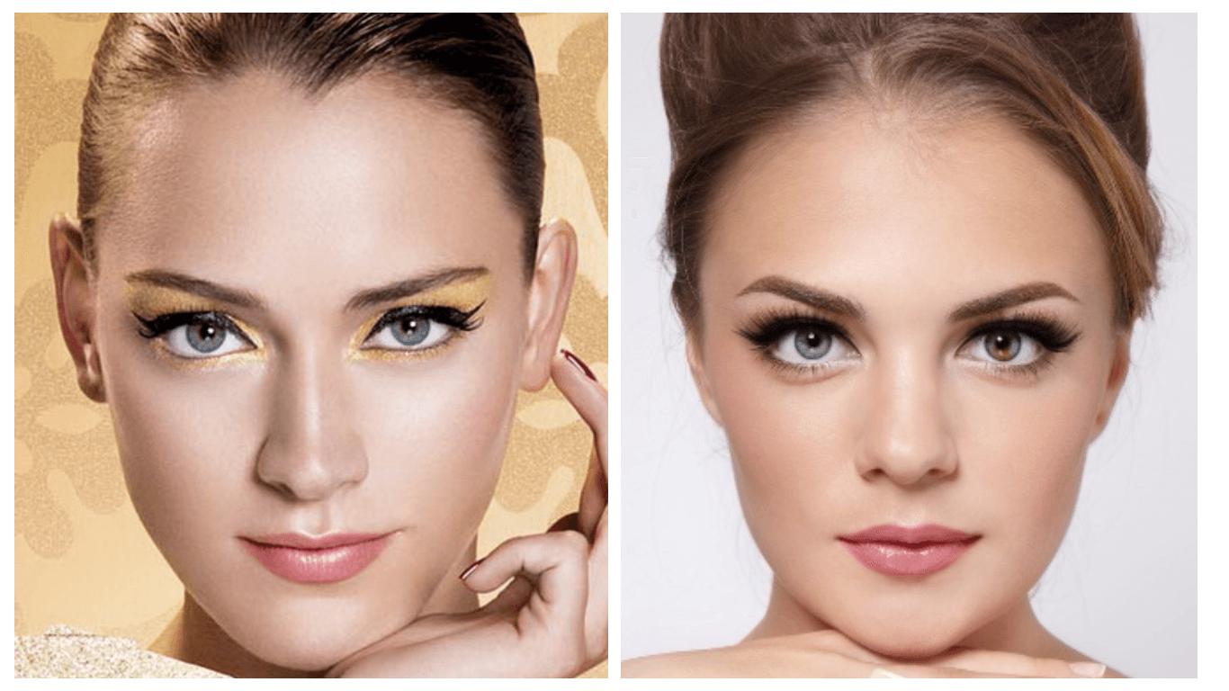 Дневной макияж для полного лица