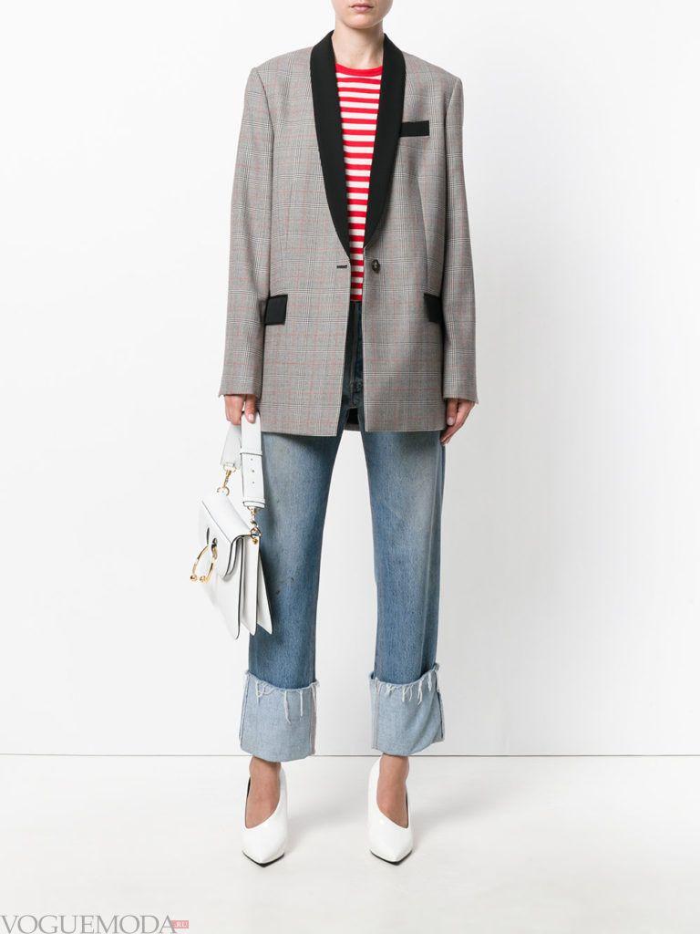 модный пиджак серого цвета