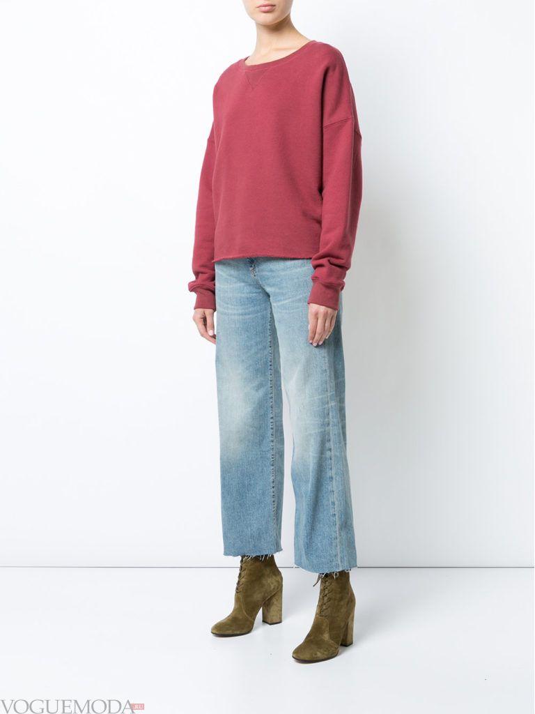 свитер цвета пыльный кедр