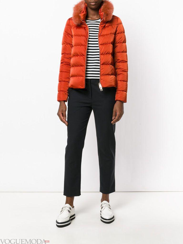 куртка цвета гончарная глина