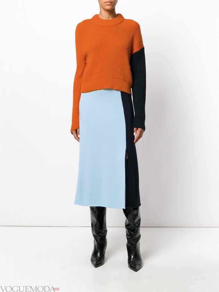 свитер гончарная глина