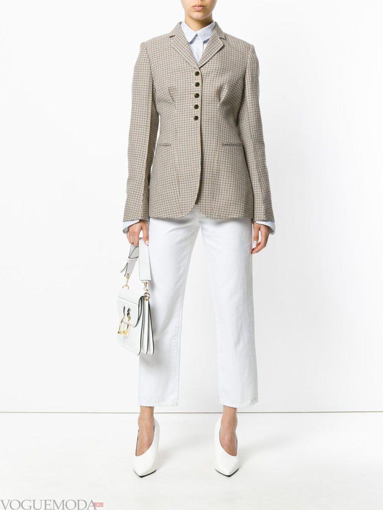 пиджак цвета теплый серый