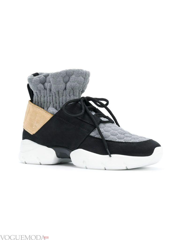 женские кроссовки «Унисекс» высокие