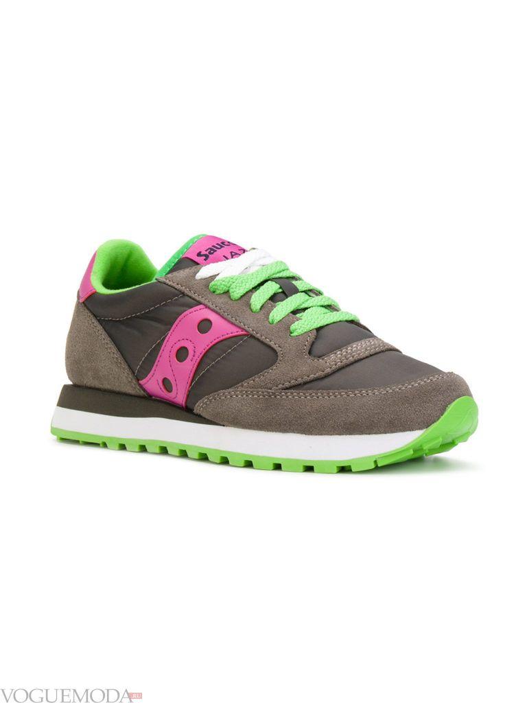 женские модные кроссовки разноцветные