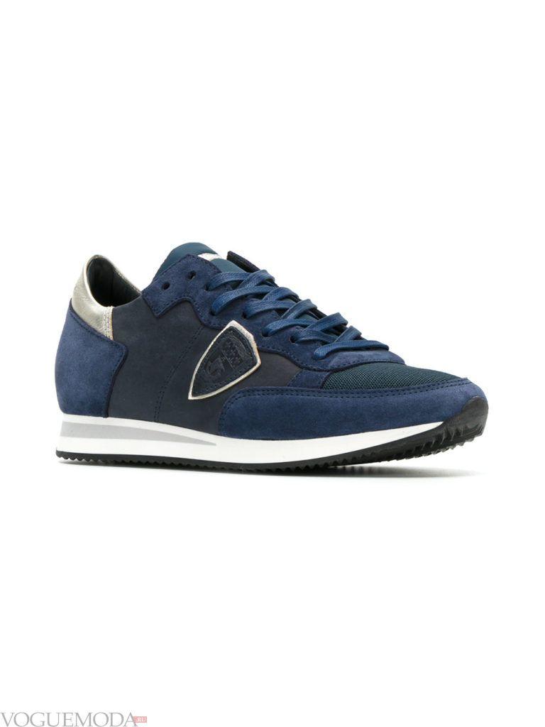 женские кроссовки «Унисекс» синие