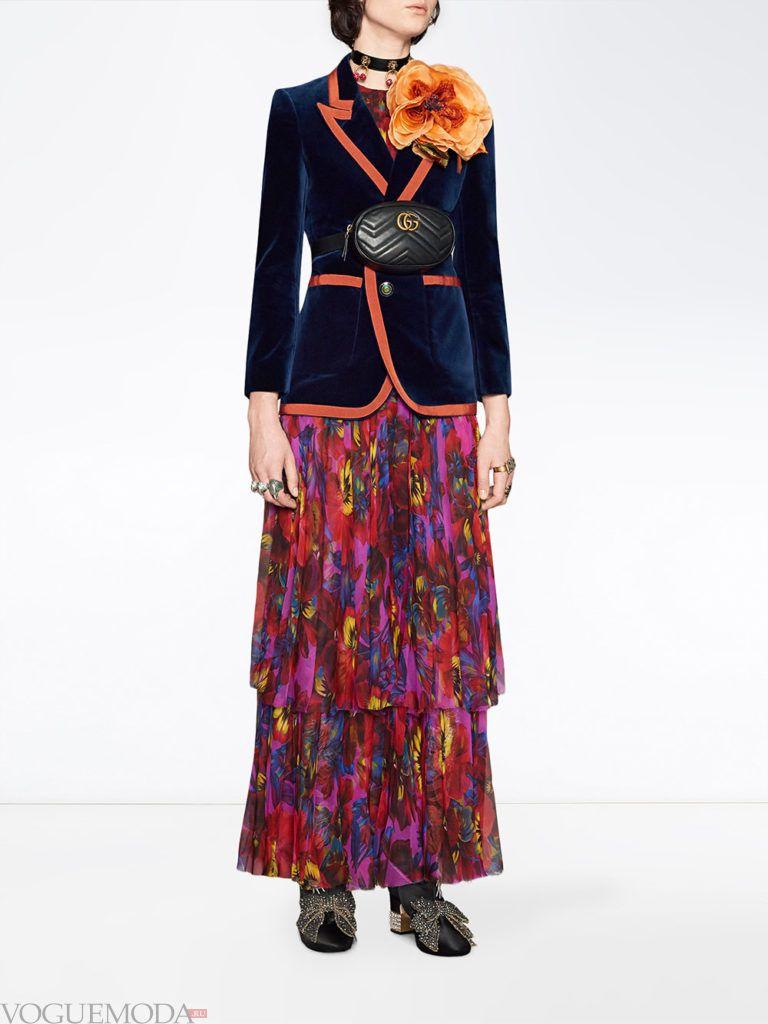модный лук осень зима с пиджаком