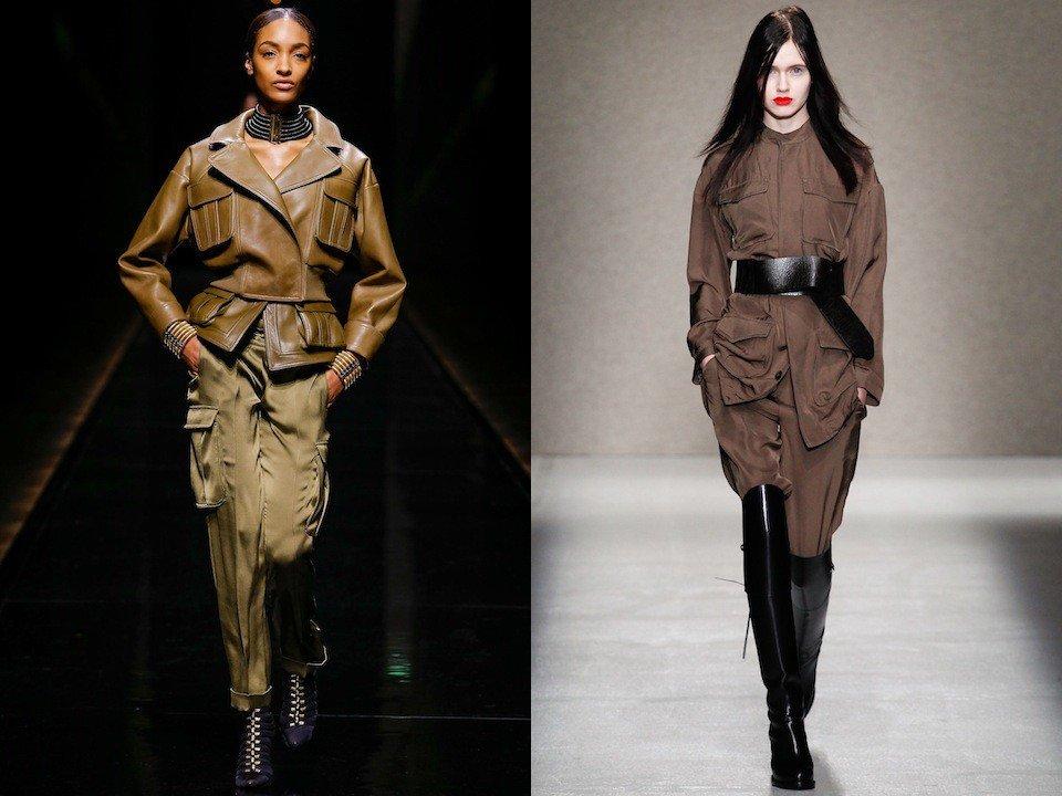 модные луки сафари разные