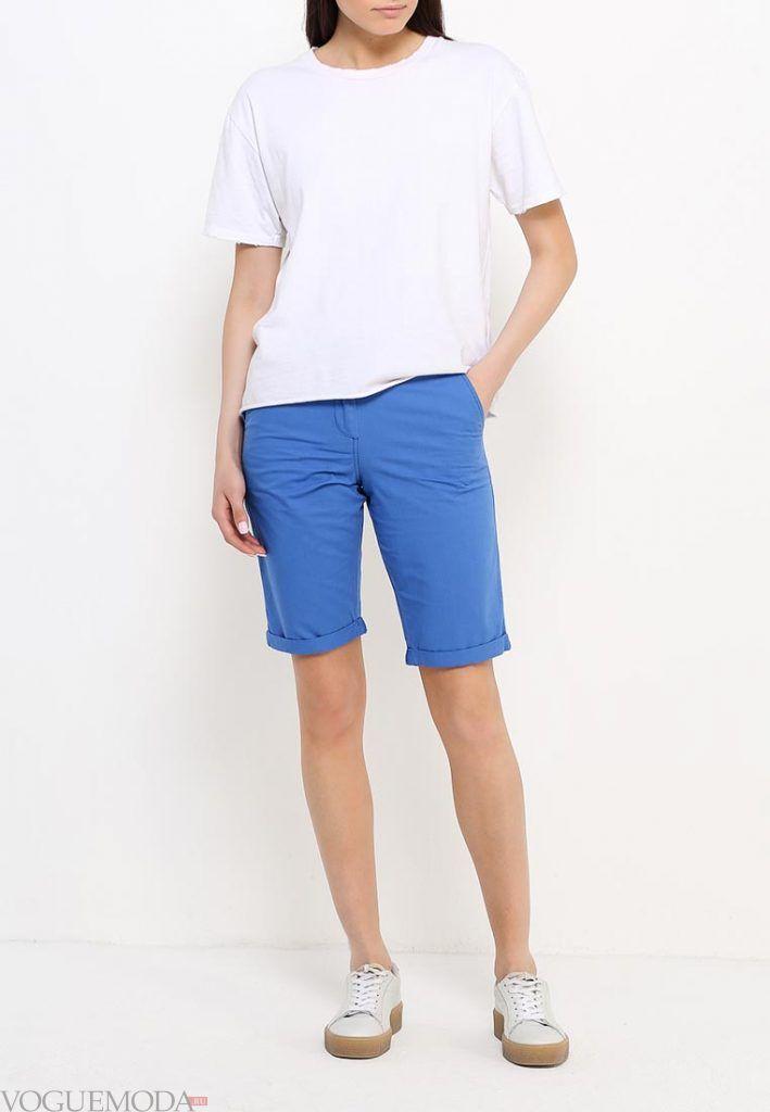 удлиненные шорты яркие