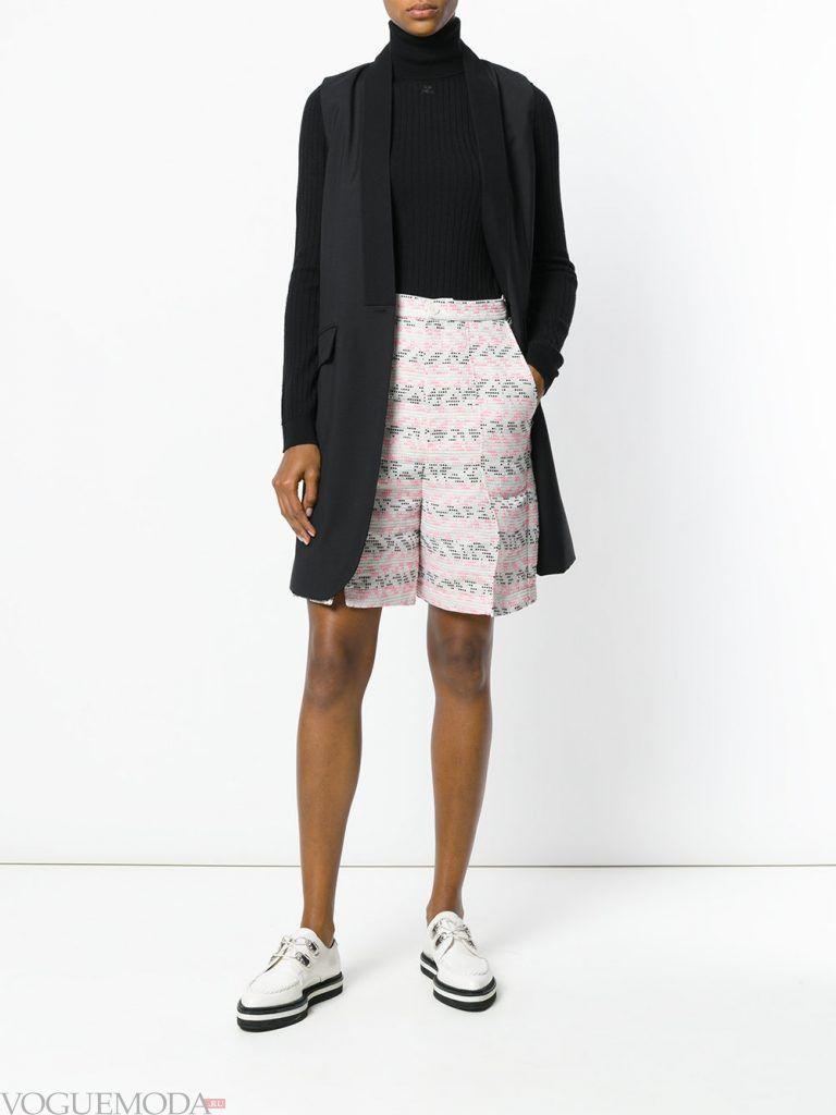 шорты бермуды с принтом