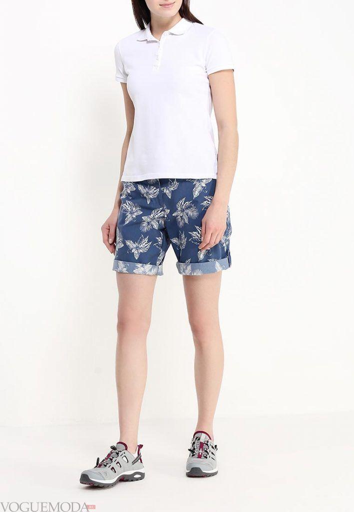 модные шорты джинсовые