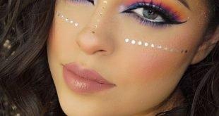 макияж глаз crazy smoky разноцветный