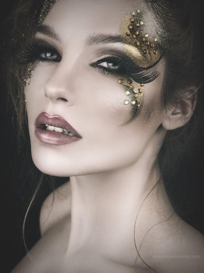 макияж глаз crazy smoky модный