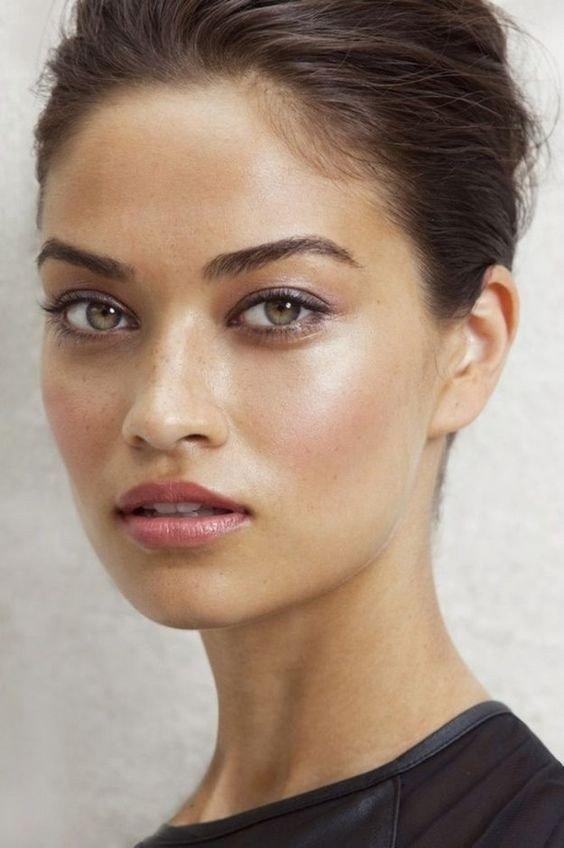 естественный осенний макияж модный