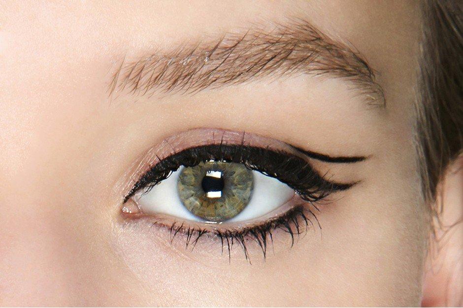 макияж глаз четкие две линии