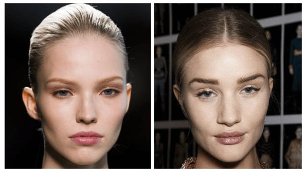 макияж губ прозрачный блеск модный