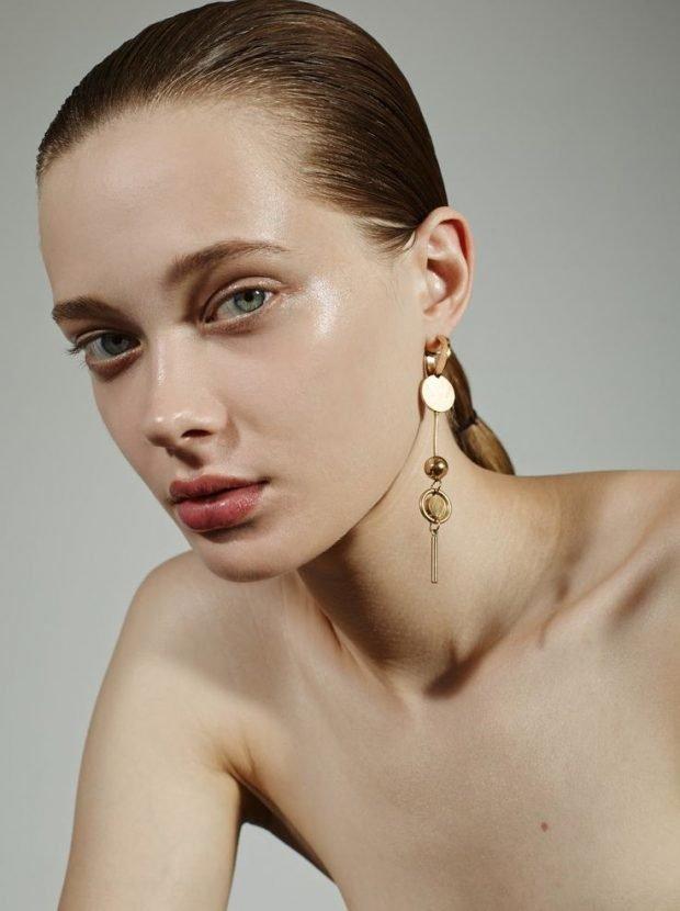 макияж естественных бровей модный