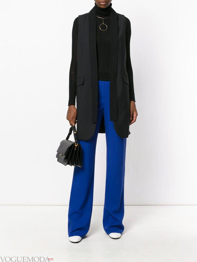 классические брюки с жилетом