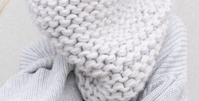 Как носить шарф снуд фото