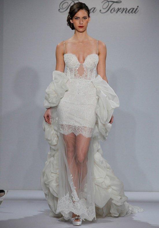 свадебное платье с кружевом короткое