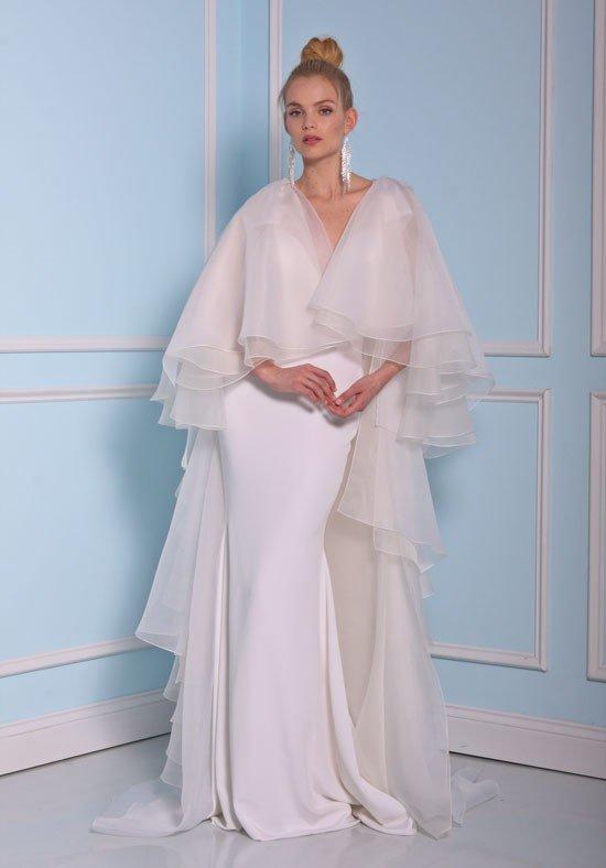 свадебные платья: со шлейфом многослойное