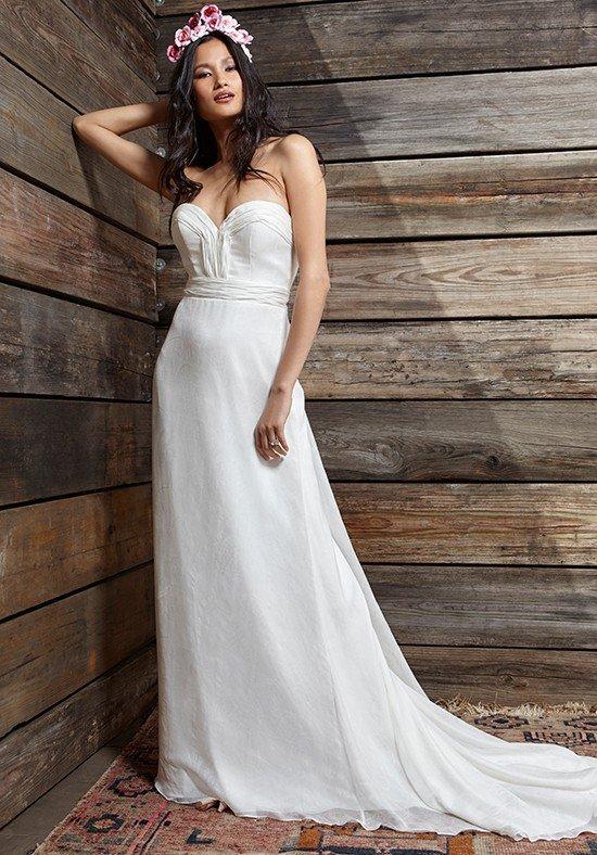 свадебные платья: со шлейфом длинное