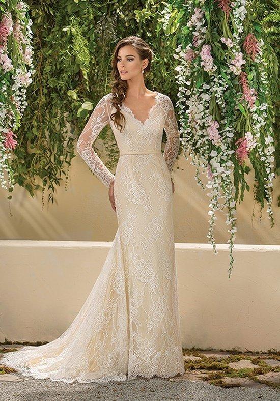 фото свадебных платьев: цветное длинное