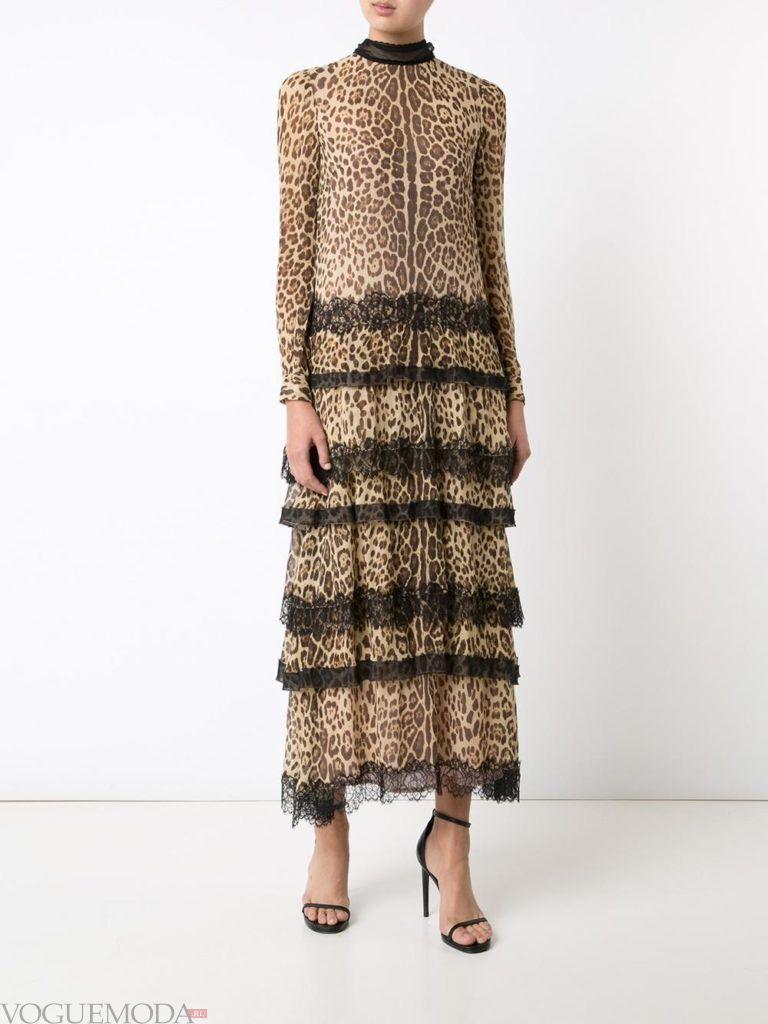 платье с декором не для встречи года крысы