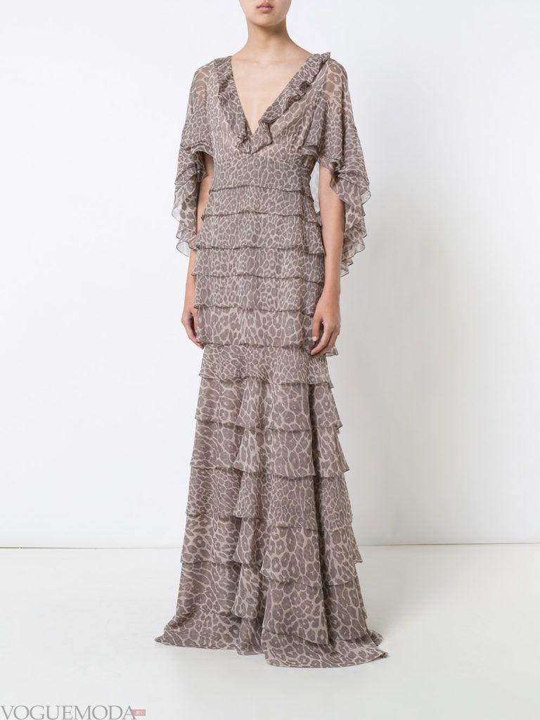 платье многослойное не для встречи года крысы
