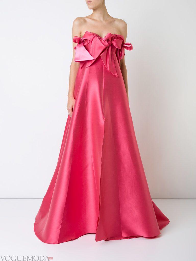 розовое платье с бантами для встречи года крысы
