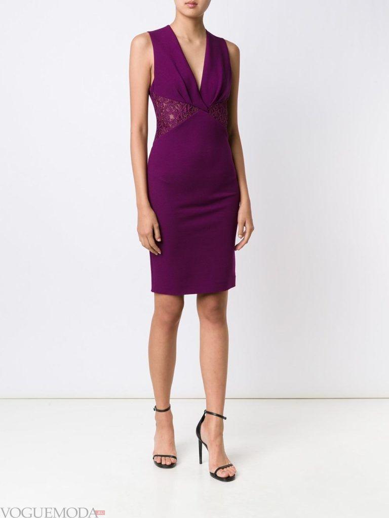 пурпурное платье футляр для встречи года крысы