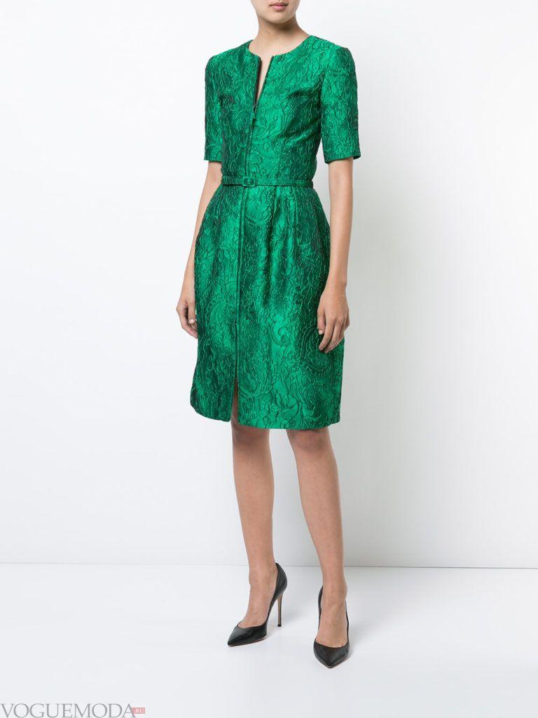 зеленое платье пышное для встречи года крысы