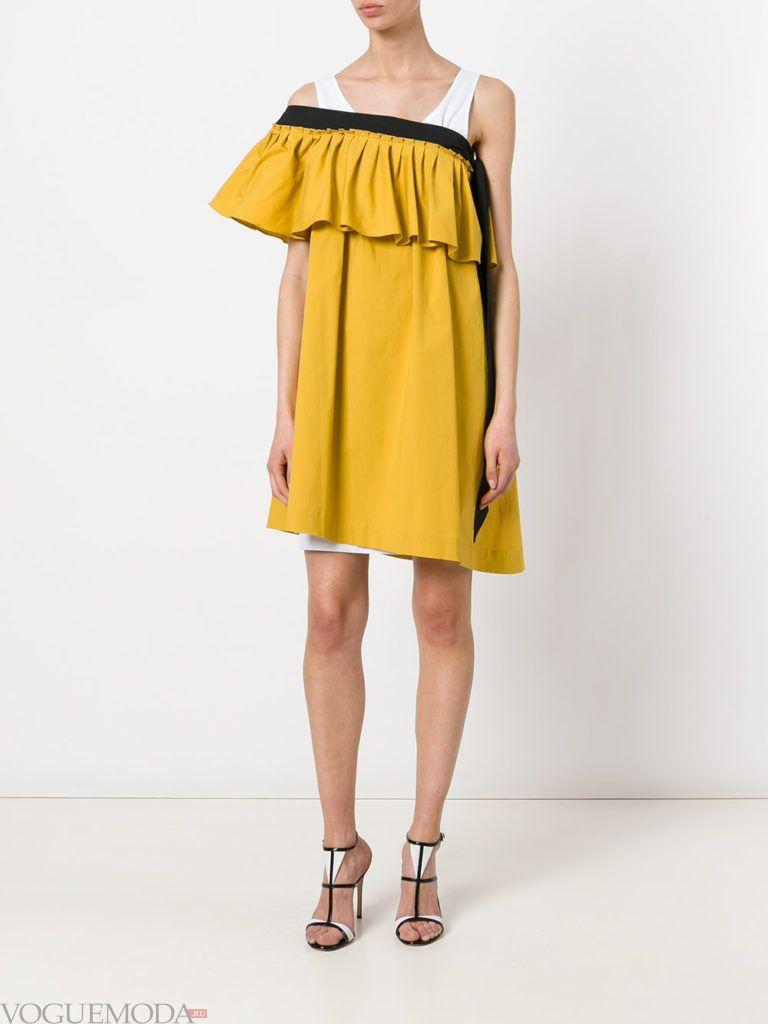 платье желтое для встречи года крысы