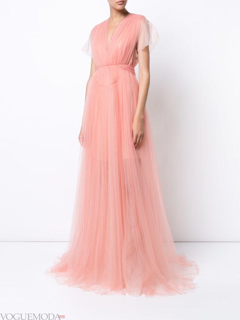 платье розовое для встречи года крысы