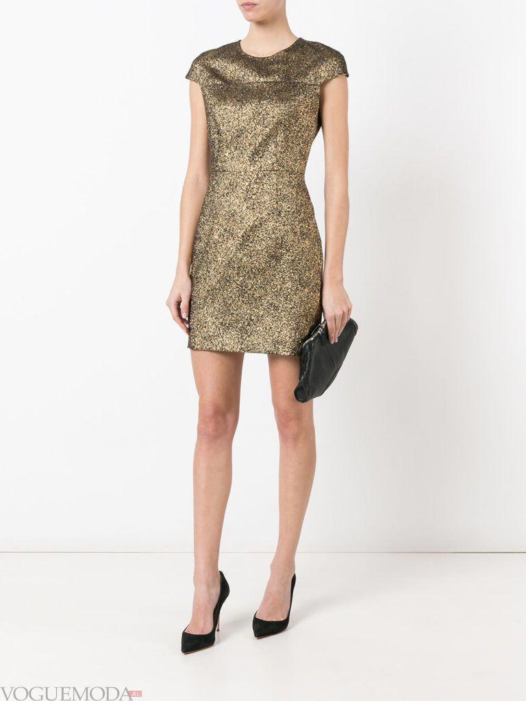 платье мини для встречи года крысы