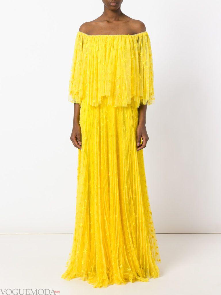 желтое платье для встречи года крысы кружевное
