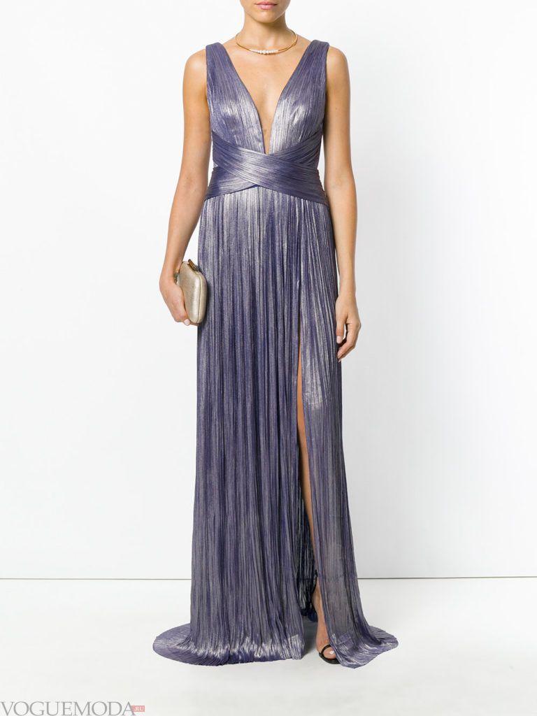платье фиолетовое для встречи года крысы