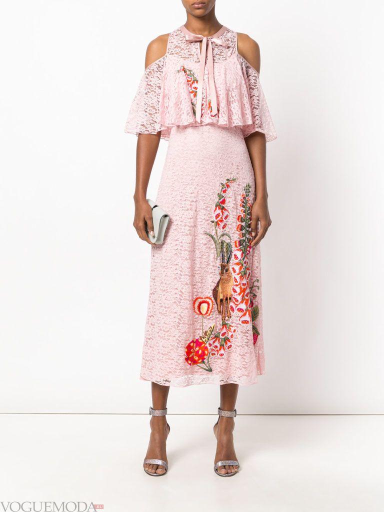 платье с изображением для встречи года крысы