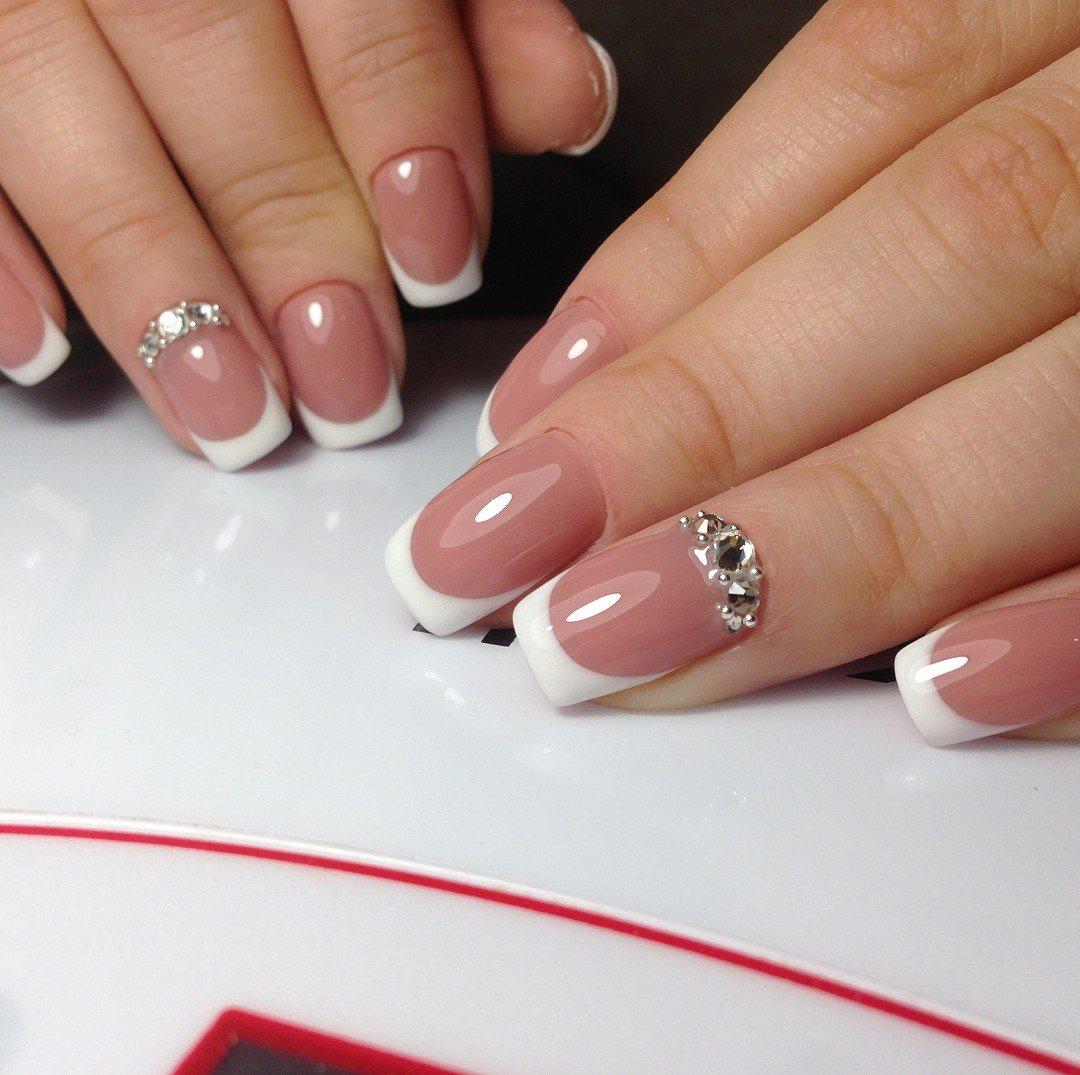 Ногти дизайн новинки 2018 фото френч белый
