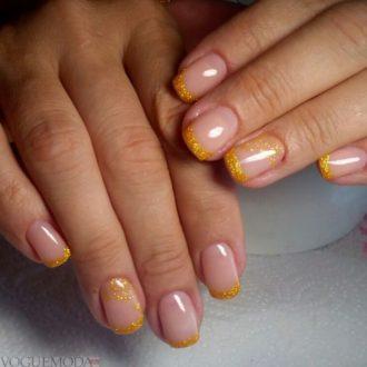 френч желтого цвета