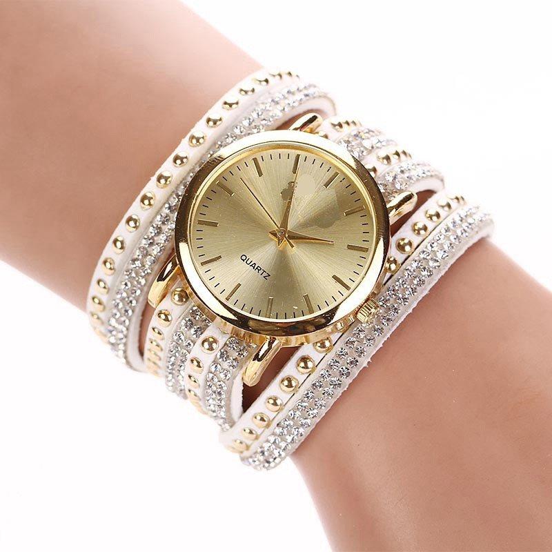женские часы с длинным ремешком модные
