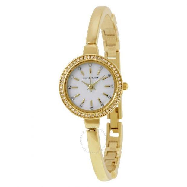 женские часы: минималистичные золотые