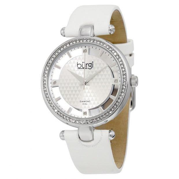 женские часы: минималистичные белые