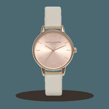 минималистичные женские часы с отливом