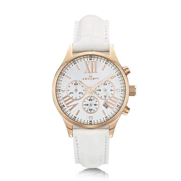 женские часы: минималистичные светлые