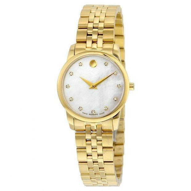 женские часы: в стиле «унисекс» золотые