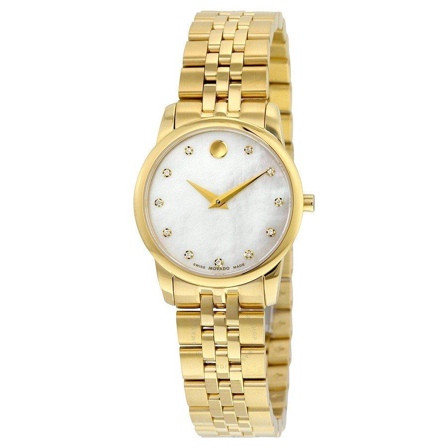 женские часы в стиле «унисекс» золотые