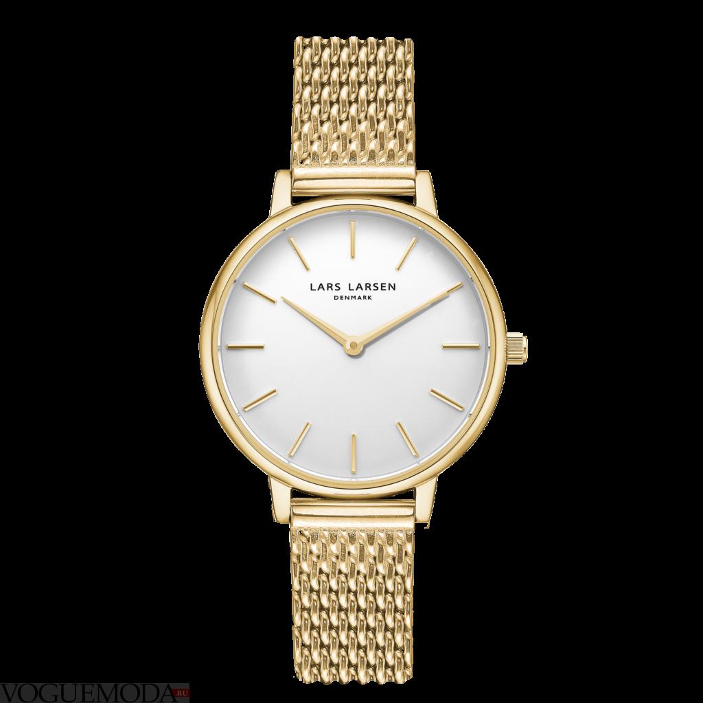 женские часы в стиле «унисекс» блестящие