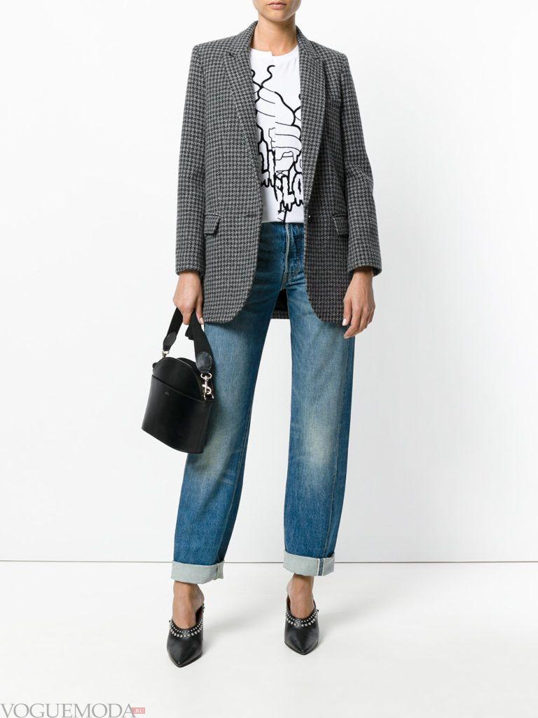 классические женские джинсы модные